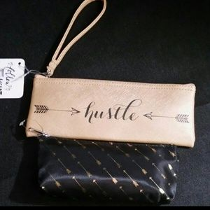 Hustle & Arrows Cosmetics Wristlet/Bag